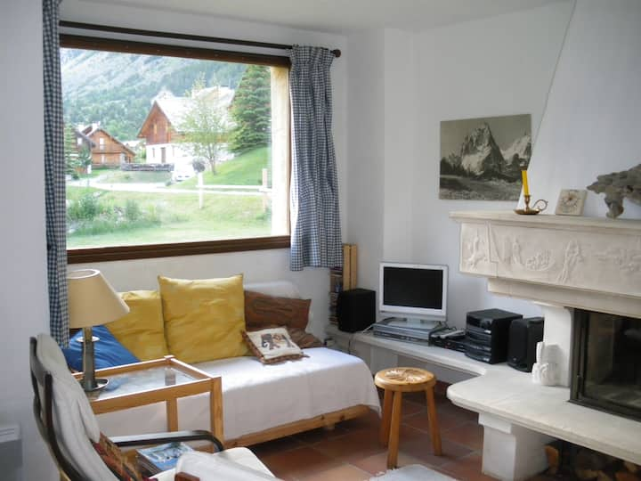 Apartment  Challanches Nevache Hautes Alpes one of the most beautiful view