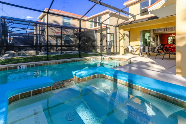 5B & 5bath/Close to Disney & Orlando/New villa