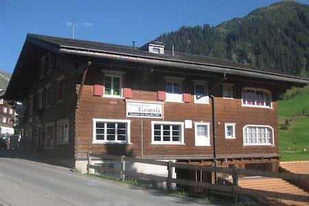 Ferien in der Natur der Schweizer Bergen - Küblis