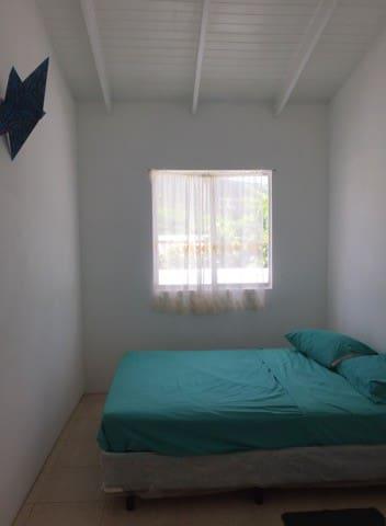 sunrise blue bedroom- includes fan and closet