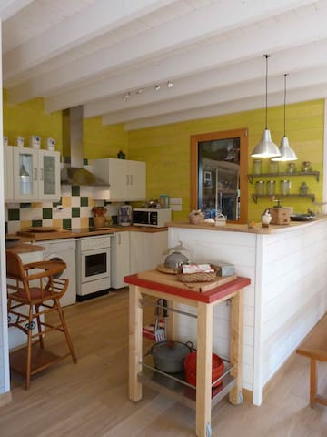 Agréable maison bois bourg, prox mer - Jard-sur-Mer