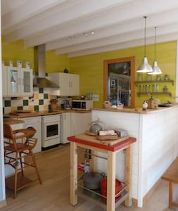 Agréable maison bois bourg, prox mer - Jard-sur-Mer - Dom