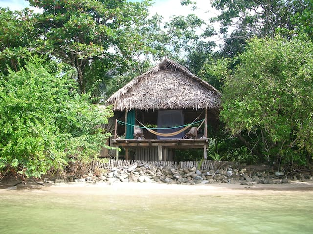 Beach Bungalow with 3 Meals For 2p. - Isla Bastimentos - (ukendt)