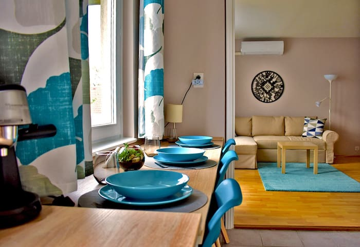 Cozy and stylish flat in the heart of Budapest