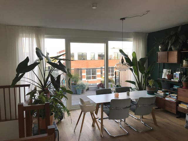 New 100 m2 apartment in Amsterdam Houthavens