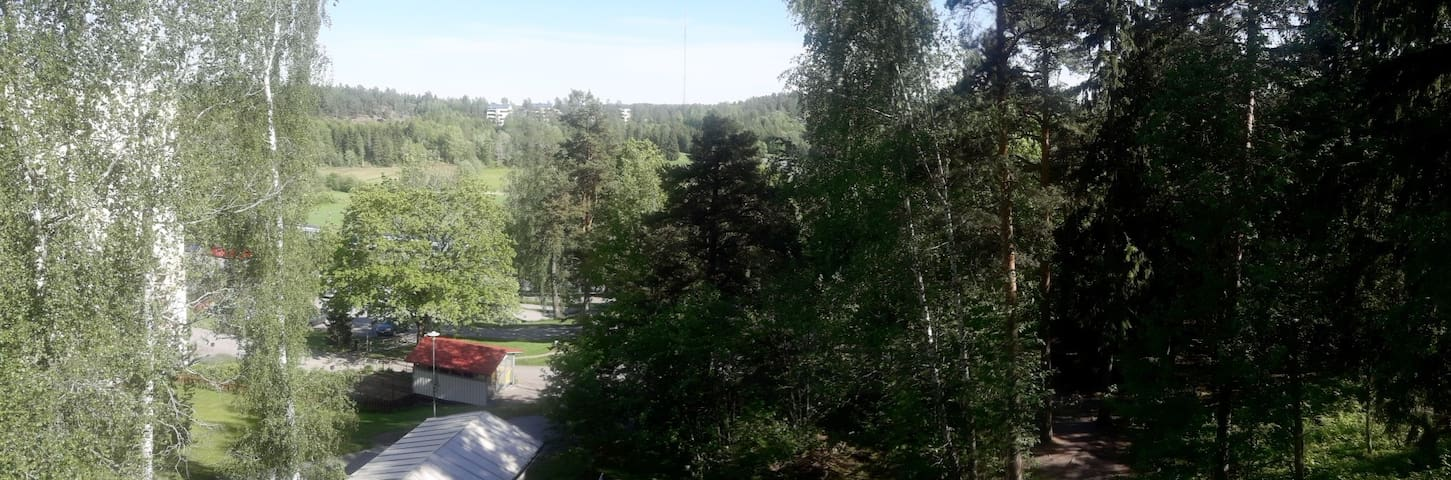 View from our balcony. Photo taken May 29, 2019