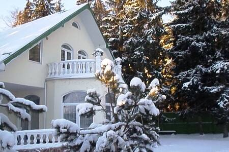 Коттедж в лесном поселке на западе Подмосковья - Malye Vyazyomy - Entire Floor