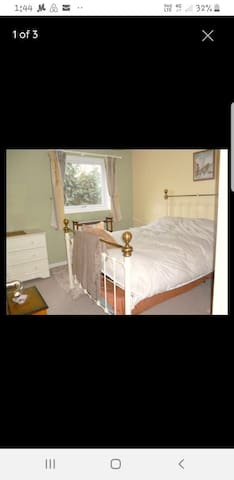 Comfortable double room close to city hospital