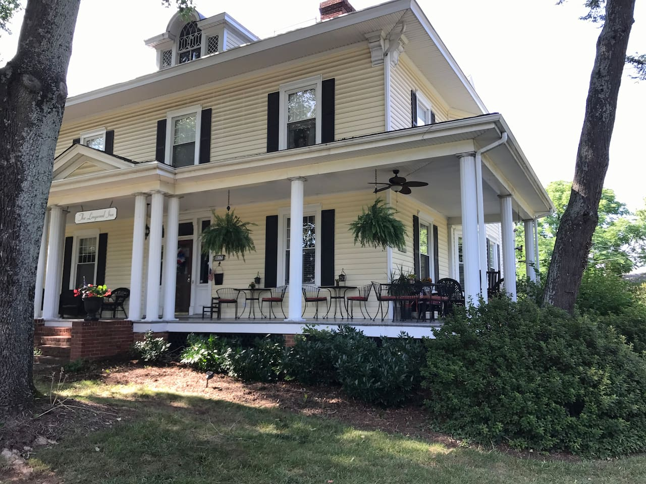 Come experience Bedford in an 1890's Colonial Revival style home with realxing and inviting wrap around front porch.