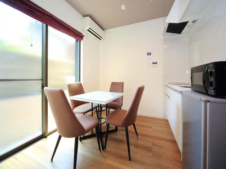 Quiet, Cozy apartment/15 min Kyoto Sta/Free Wi-FI