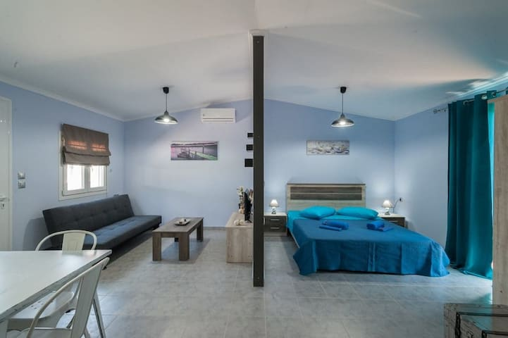 180° Seaview Apartments 2 lemnos keros(eco house)