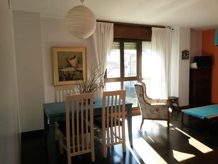Un apartamento con inmejorables vistas en Sojuela