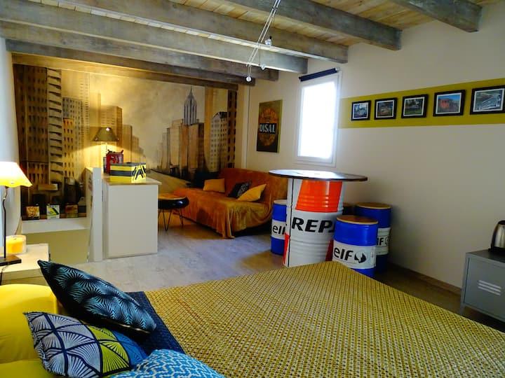 Chambre Atypique Esprit Garage