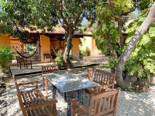 Barrinha, Guest House with a garden in Parajuru