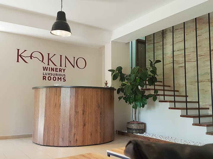 KOKINO Winery&Luxsurious rooms 4 beds