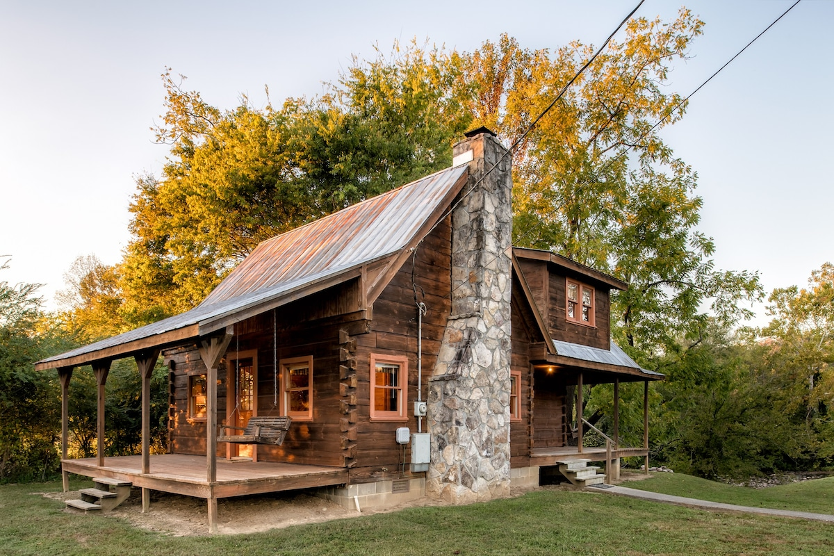 The Cabin In Summer.