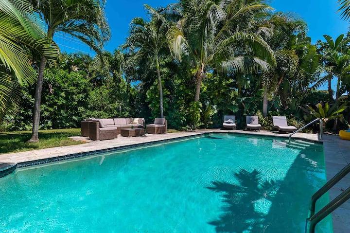 Jungle Pool Getaway