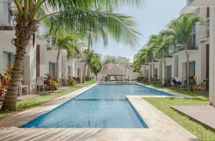 Luxury Apartment in Playacar