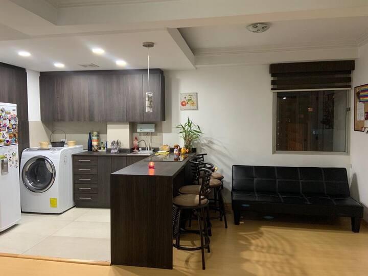 Apartamento 100% Equipado - Ubicación Estratégica