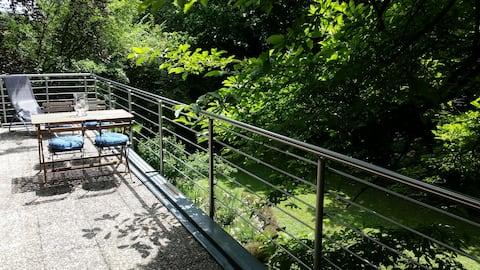 Traumhafte 2 Zi-Terrassenwohnung 123 qm in Seenähe