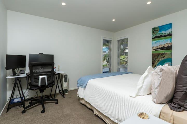 Bedroom 2 (upstairs) with Queen bed
