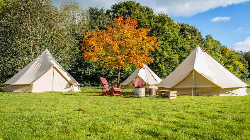 Yippee Tents Standard Glamping @ Sea Sessions 2017 - Bundoran - Tent