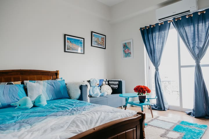AZUL | Cozy Unit Near the Airport  w/ Netflix