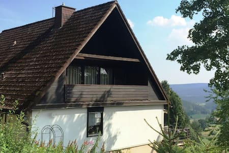 Scenic Apartment in Lenzkirch with Bikes, Balcony