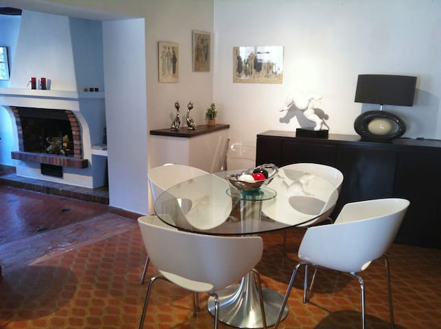 Nicely decorated apartment with a perfect location - Tourrettes-sur-Loup - 公寓