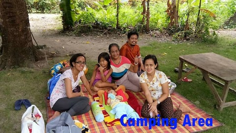 Camping Area and Island Hopping