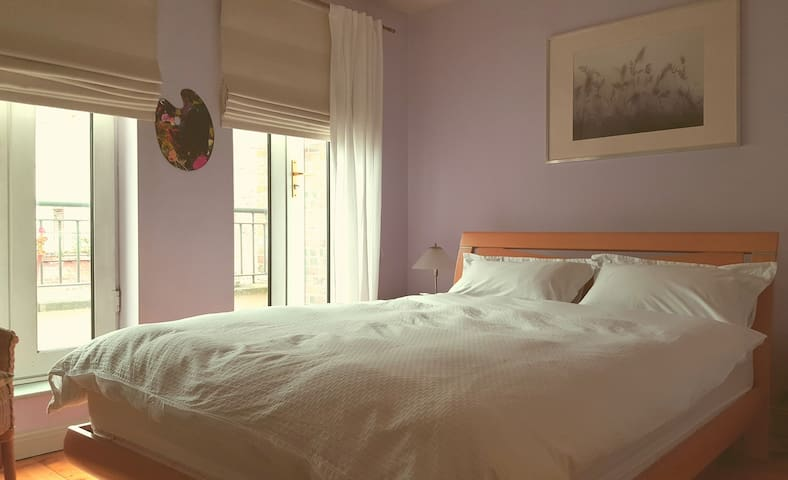 Airy comfy double ensuite bedroom in Dublin