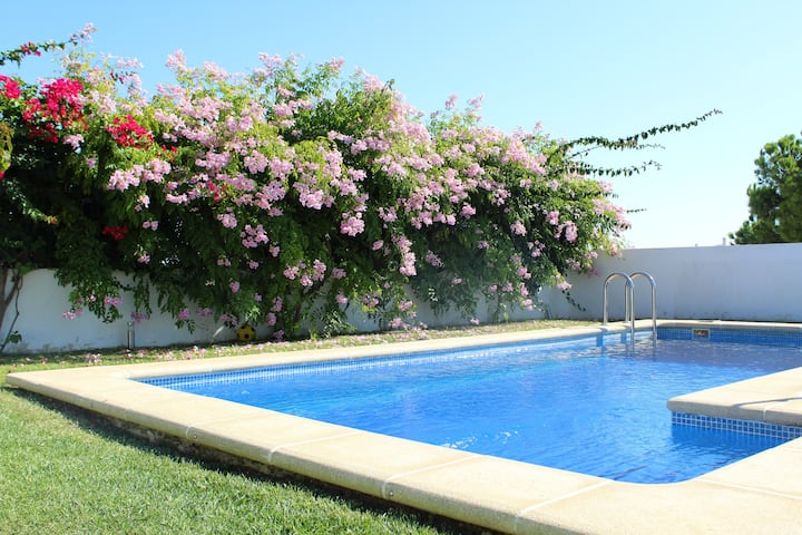 Villa with 4 bedrooms in Conil de la Frontera, with wonderful sea view, private pool and terrace - 1 km from the beach