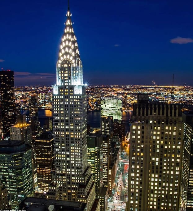 View from my building. The iconic Chrysler Building!