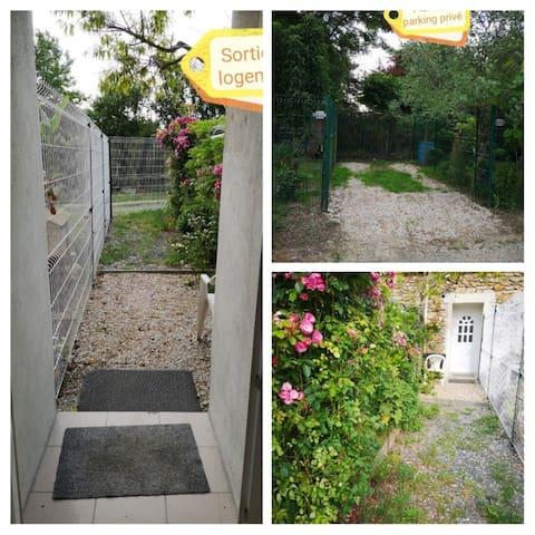 plein pied avec jardin en pavillon 2 personnes