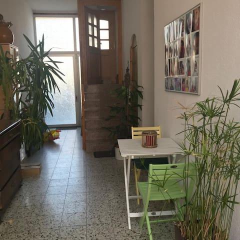freundliche Wohnung