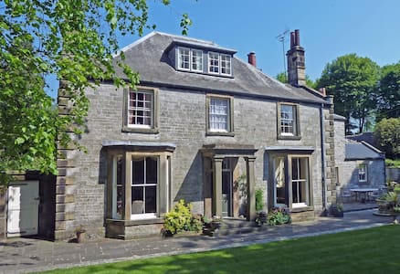 The Old Vicarage Luxury B&B - Double Bedroom - Tideswell