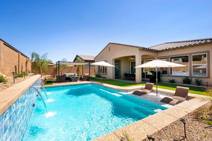 Beautiful 4 Bdrm 3 Bath home w/Private heated pool