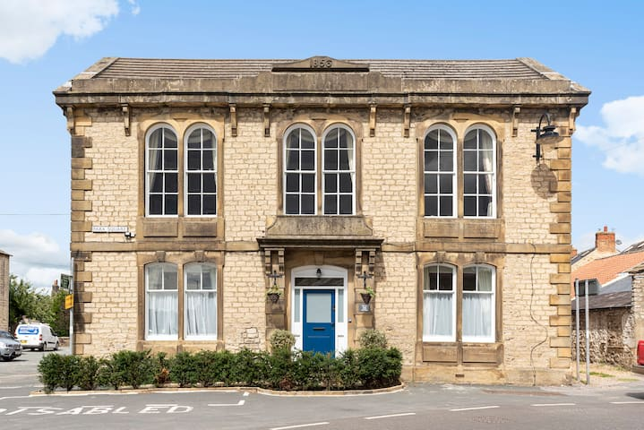 The Old Masham Library - Grade 2 listed