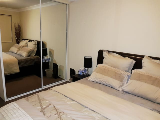 Nice and tidy room in a two bedroom unit