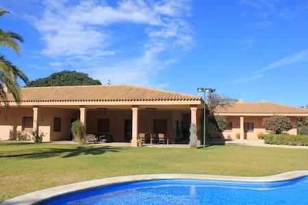 Casa rural colonial, jardin,piscina - Alicante - Huis