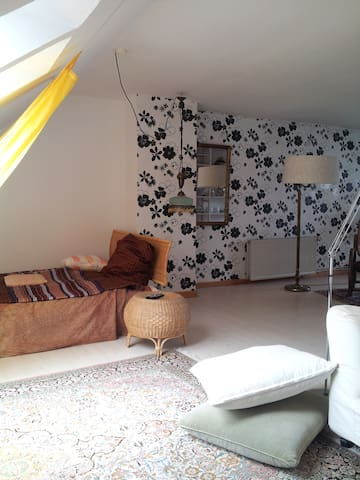 Atelierzimmer im Grünen - Kronshagen - Huis