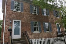Historic House on Nassau St.  Walk everywhere!