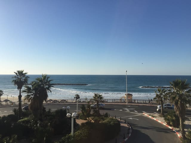 Beach front appartment in the center of Tel Aviv - Tel Aviv-Yafo - Flat