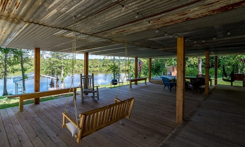 Our Back Porch on Toledo Bend