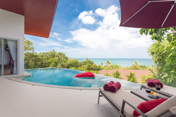 Samui Chic Pool Villa for 4 with Free Breakfast