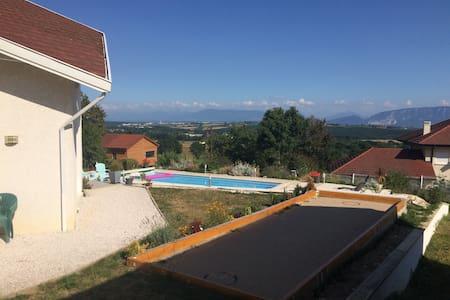 Chambre(s) dans superbe villa proche Genève - Thoiry - Muu