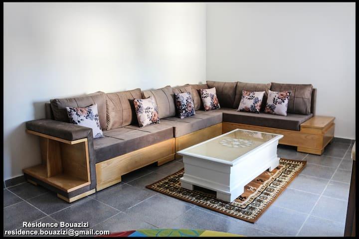 Résidence Bouazizi - Appart N°4 (S+1) - Ghar al Milh - Apartament