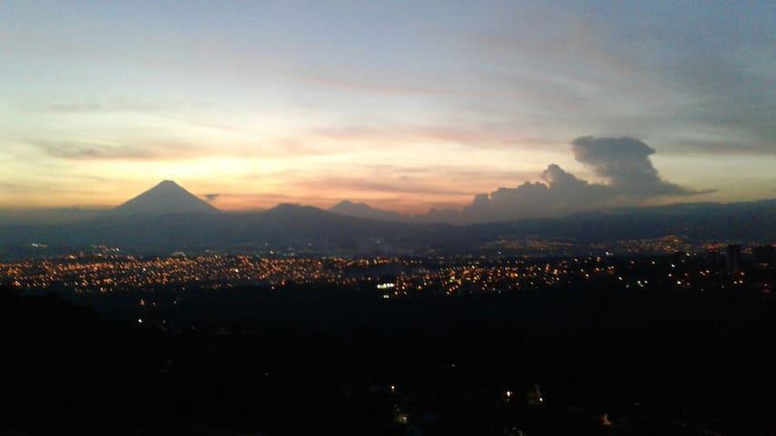 ¡Apartamento con una vista genial! - Guatemala - Appartement