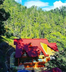 Beautiful house on the mountain - Lomamökki