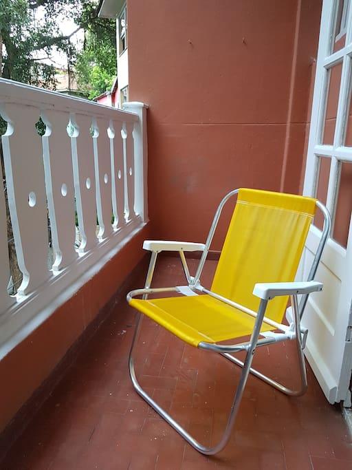 Nice veranda.